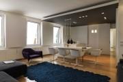 Фото 6 Потолок из гипсокартона в зале: 90+ роскошных интерьеров для гостиной вашей мечты