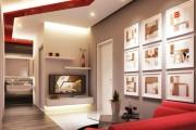 Фото 7 Потолок из гипсокартона в зале: 90+ роскошных интерьеров для гостиной вашей мечты