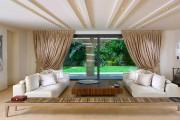 Фото 12 Потолок из гипсокартона в зале: 90+ роскошных интерьеров для гостиной вашей мечты