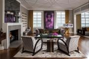 Фото 3 Потолок из гипсокартона в зале: 90+ роскошных интерьеров для гостиной вашей мечты