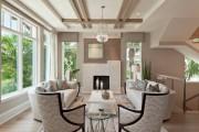 Фото 15 Потолок из гипсокартона в зале: 90+ роскошных интерьеров для гостиной вашей мечты