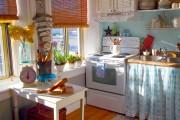 Фото 21 Дизайн штор для кухни: обзор эстетичных и современных новинок для дома