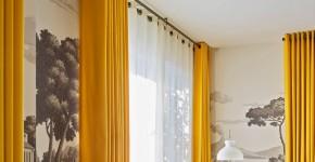 45 Идей штор на люверсах своими руками: как гармонично украсить ваши окна фото