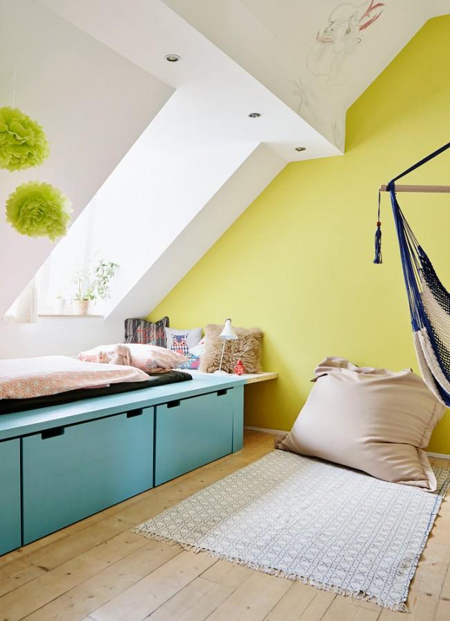 Ваше душевное состояние будет зависеть от цветового фона комнаты