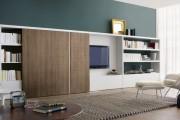 Фото 6 Стенки в зал: обзор современной и функциональной мебели для гостиной