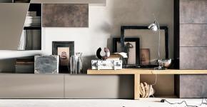 Стенки в зал: обзор современной и функциональной мебели для гостиной фото