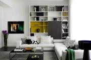 Фото 13 Стенки в зал: обзор современной и функциональной мебели для гостиной
