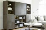 Фото 15 Стенки в зал: обзор современной и функциональной мебели для гостиной