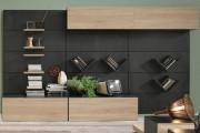 Фото 2 Стенки в зал: обзор современной и функциональной мебели для гостиной