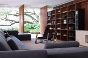 Фото 16 Стенки в зал: обзор современной и функциональной мебели для гостиной