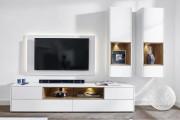 Фото 20 Стенки в зал: обзор современной и функциональной мебели для гостиной