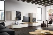 Фото 21 Стенки в зал: обзор современной и функциональной мебели для гостиной