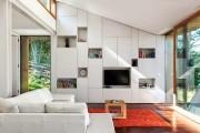 Фото 27 Стенки в зал: обзор современной и функциональной мебели для гостиной
