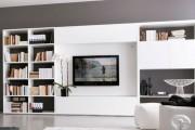 Фото 28 Стенки в зал: обзор современной и функциональной мебели для гостиной