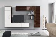 Фото 30 Стенки в зал: обзор современной и функциональной мебели для гостиной