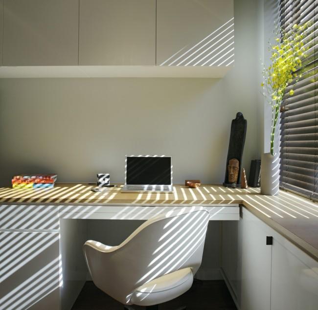 Минималистичный дизайн рабочего места