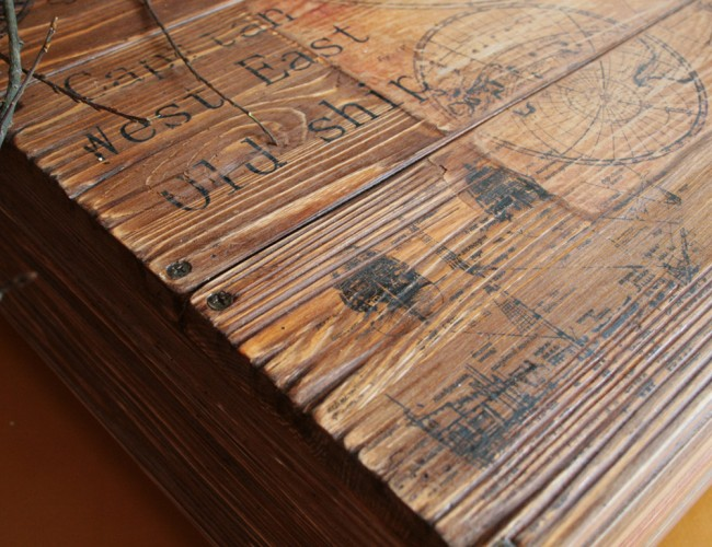 Использование браширования открывает широчайшие возможности по изменению текстуры и цвета самых разных пород древесины