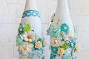 Фото 34 Декор бутылок своими руками: 100+ вдохновляющих идей и поэтапные мастер-классы