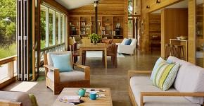 Деревянный дом: интерьер внутри и 60+ вдохновляющих реализаций дизайна фото