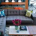 Диван-еврокнижка: как оптимизировать пространство гостиной и 45+ идей для стильного интерьера фото