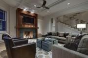 Фото 12 Диван-еврокнижка: как оптимизировать пространство гостиной и 45+ идей для стильного интерьера