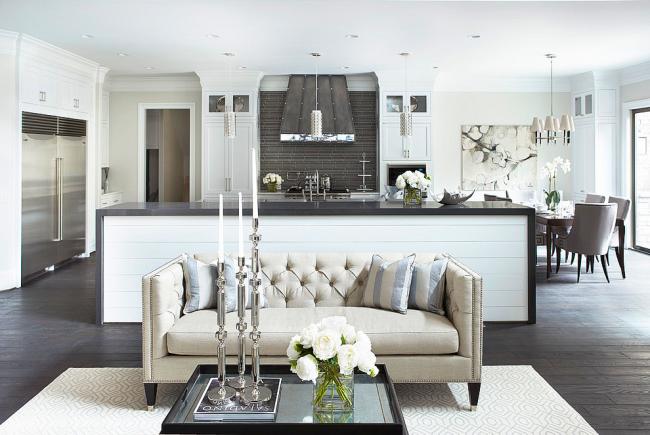 Двухкомнатная квартира - простор для дизайнерских перепланировок