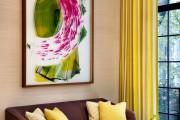 Фото 42 Дизайн штор для гостиной: 100 самых стильных и свежих трендов