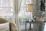 Фото 8 Дизайн штор для гостиной: 100 самых стильных и свежих трендов