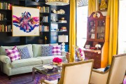 Фото 45 Дизайн штор для гостиной: 100 самых стильных и свежих трендов