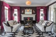 Фото 47 Дизайн штор для гостиной: 100 самых стильных и свежих трендов