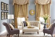 Фото 52 Дизайн штор для гостиной: 100 самых стильных и свежих трендов