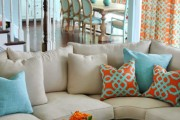 Фото 13 Дизайн штор для гостиной: 100 самых стильных и свежих трендов