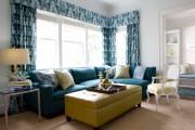Фото 14 Дизайн штор для гостиной: 100 самых стильных и свежих трендов