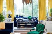 Фото 3 Дизайн штор для гостиной: 100 самых стильных и свежих трендов