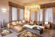 Фото 20 Дизайн штор для гостиной: 100 самых стильных и свежих трендов