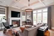 Фото 23 Дизайн штор для гостиной: 100 самых стильных и свежих трендов