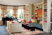 Фото 29 Дизайн штор для гостиной: 100 самых стильных и свежих трендов
