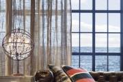 Фото 1 Дизайн штор для гостиной: 100 самых стильных и свежих трендов