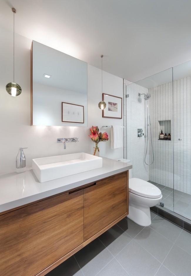 Белый цвет в отделке помещения сделает интерьер просторнее