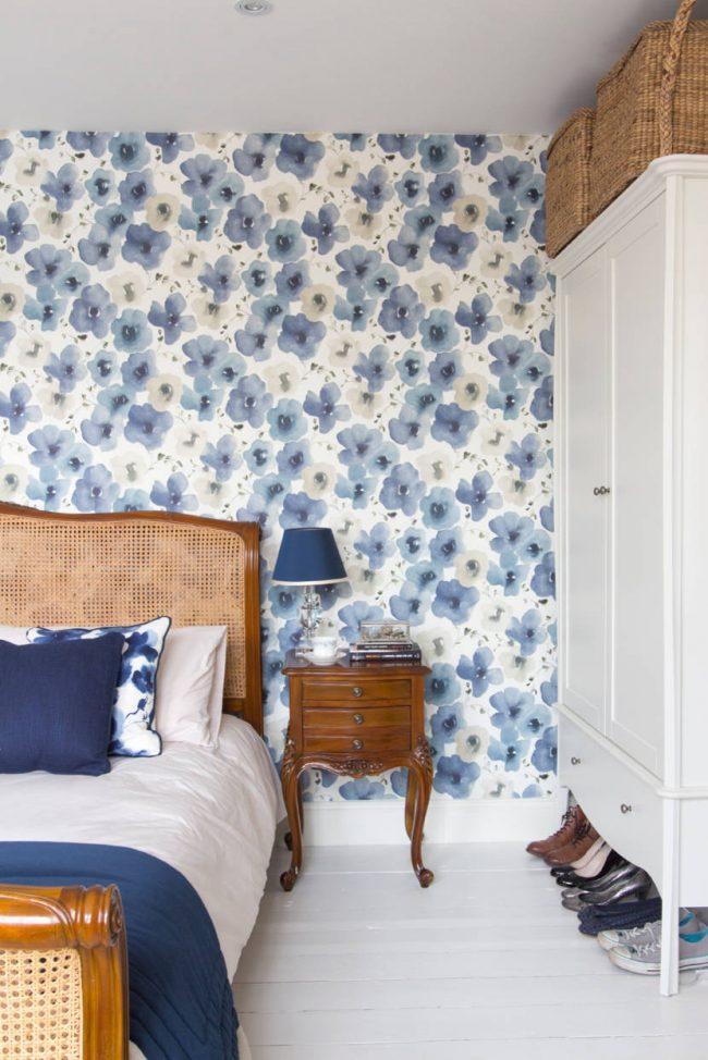 Великолепный интерьер спальни в нежных тонах