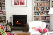 Фото 67 Камин в интерьере: 140+ избранных идей для гостиной и все тонкости каминного искусства