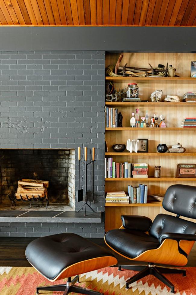 Модерн в дизайне уютной гостиной