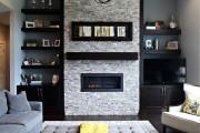 Фото 40 Камин в интерьере: 140+ избранных идей для гостиной и все тонкости каминного искусства