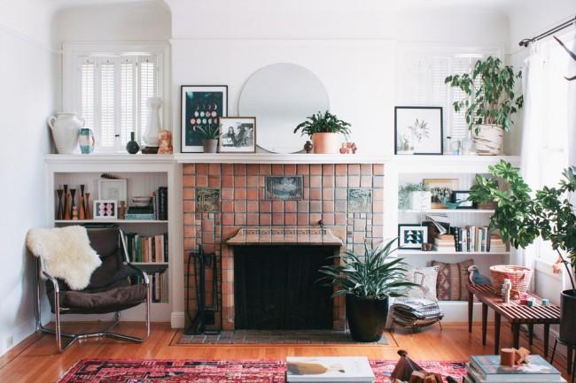 Стильный интерьер гостиной не перестанет восхищать вас, а также ваших гостей