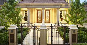 Кованые заборы: подбор правильной конструкции и 50 лучших решений для дома фото