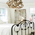 Кованые кровати: 115 утонченных решений для интерьера в стиле бохо, рустик и прованс фото