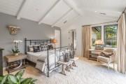 Фото 5 Кованые кровати: 115 утонченных решений для интерьера в стиле бохо, рустик и прованс