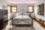 Фото 9 Кованые кровати: 115 утонченных решений для интерьера в стиле бохо, рустик и прованс