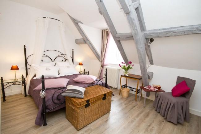Концепция дизайна комнаты для сна и отдыха строится именно вокруг спального места