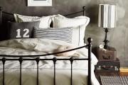 Фото 65 Кованые кровати: 115 утонченных решений для интерьера в стиле бохо, рустик и прованс